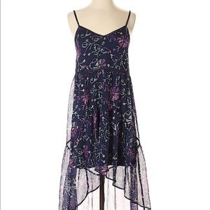 URBAN OUTFITTERS ECOTE Festival Boho Floral Dress